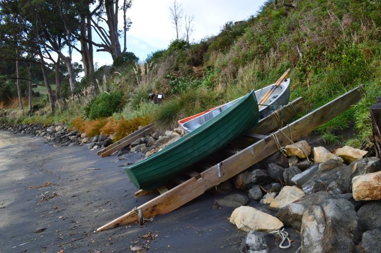 Beach in Stewart Island