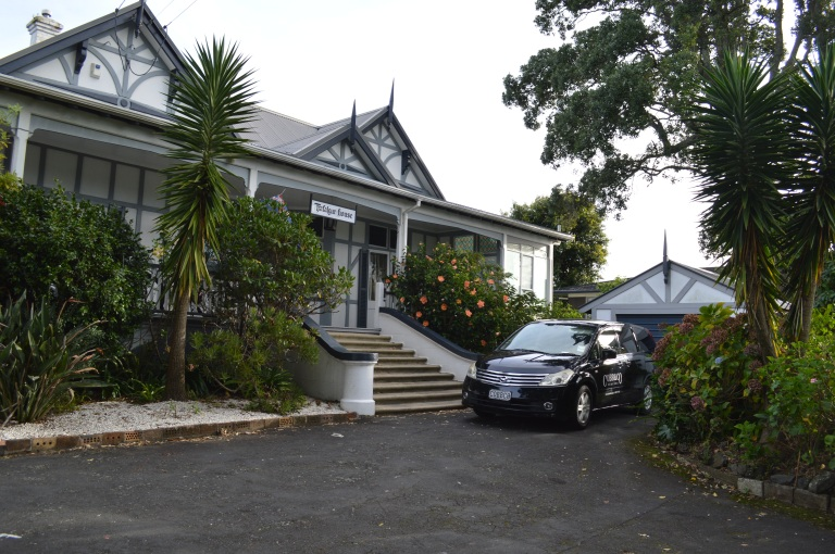 Traflagar house in Auckland