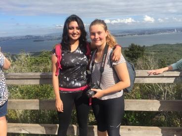 Rangitoto summit with Lisa